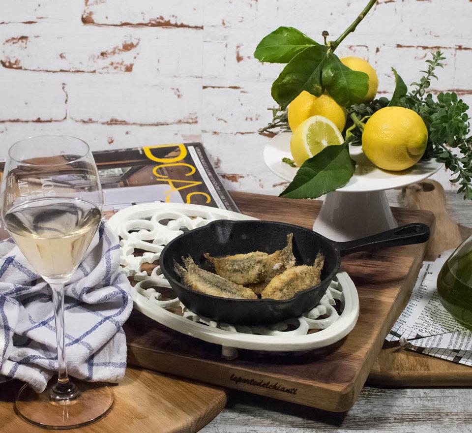 Acciuga ripiena cucinata da Bel Fish Food. Pesce fresco: acciughe liguri cucinate in esclusivi piatti pronti veloci da preparare
