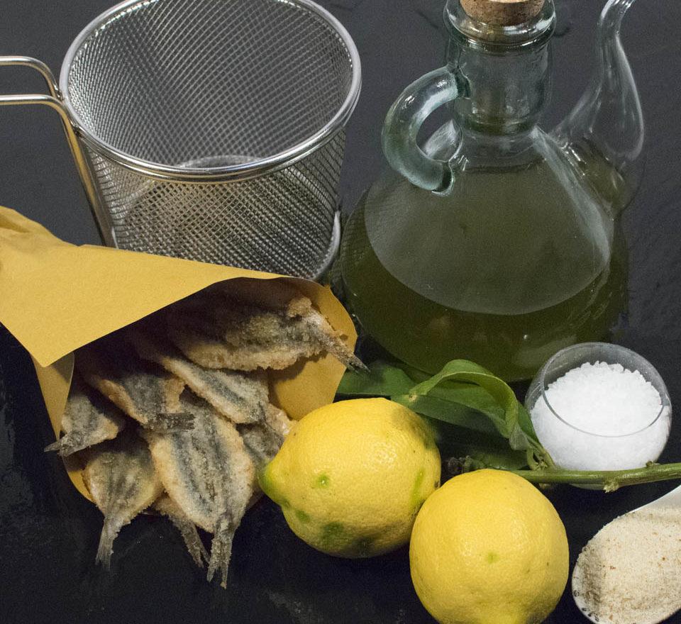 Acciuga spinata impanata cucinata da Bel Fish Food. Pesce fresco: acciughe liguri cucinate in esclusivi piatti pronti veloci da preparare