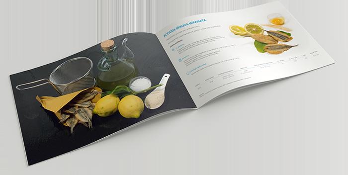 Catalogo Bel Fish Food, commercializziamo pesce fresco: acciughe liguri cucinate in esclusivi piatti pronti veloci da preparare